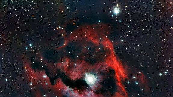 Seagull Nebula Spreads Cosmic Wings in Amazing Photos