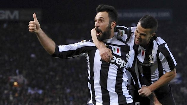 Juventus striker Mirko Vucinic (Reuters)