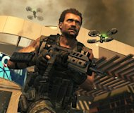 &#39;Call of Duty: Black Ops II&#39; character Harper surrounded by futuristic drones