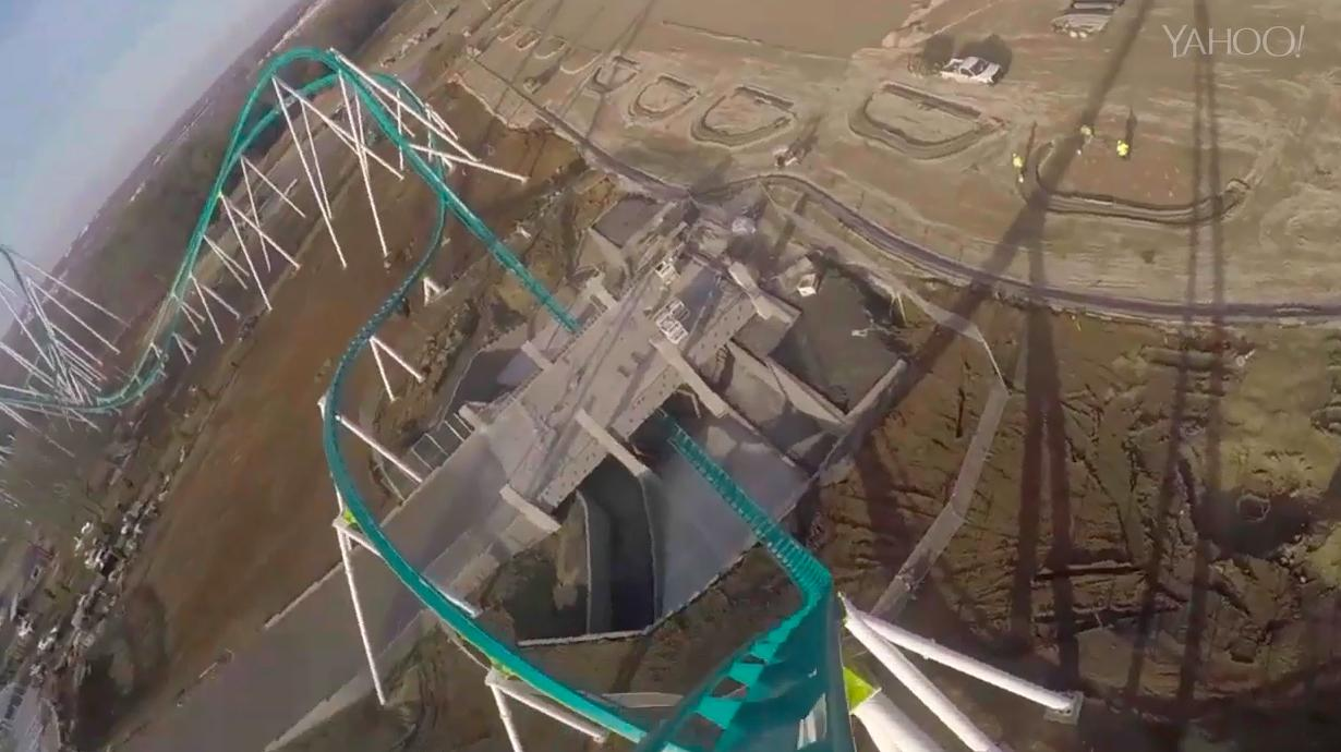 New 325-foot-tall roller coaster can reach 95 miles per hour