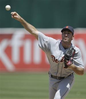 Verlander, Tigers top Athletics in series finale
