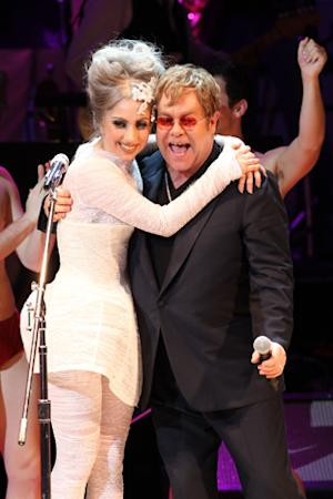 Lady Gaga Named Godmother to Elton John's New Son Elijah
