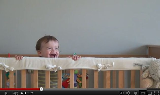 Record your baby's laugh and cry
