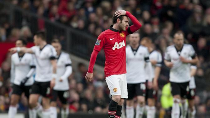 More Moyes difficulties as Man United draws in EPL