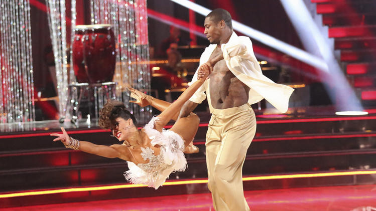 Karina Smirnoff and Jacoby Jones (4/29/13)