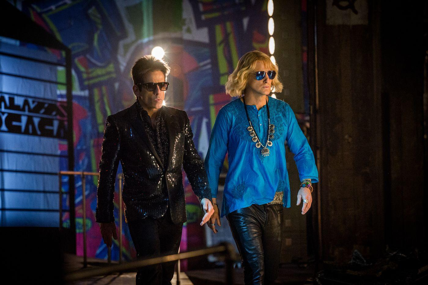 Zoolander 2 just can't relax