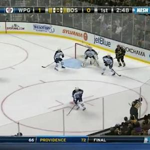 Michael Hutchinson Save on David Pastrnak (17:13/1st)