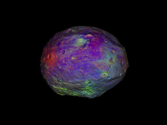 NASA Video Reveals Huge Asteroid Vesta's Complex Surface