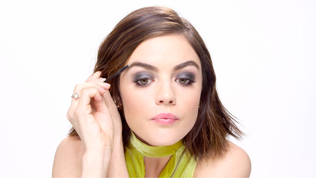How to Get Lucy Hale's Bombshell Brows
