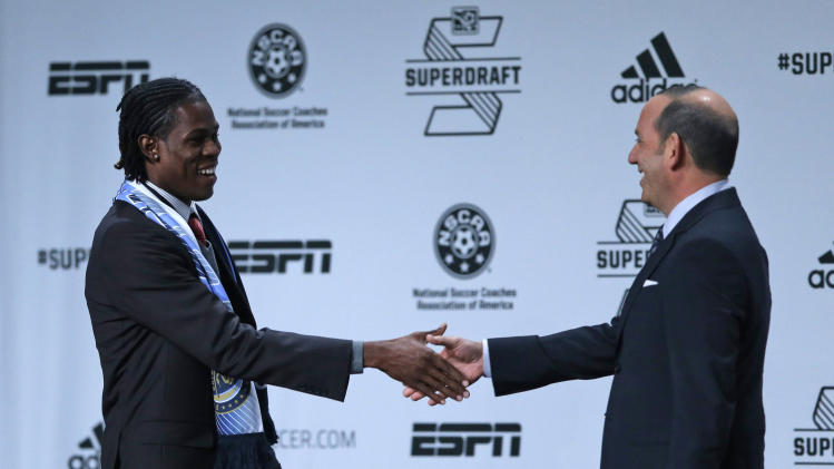 Union take G Blake with No. 1 pick in MLS draft