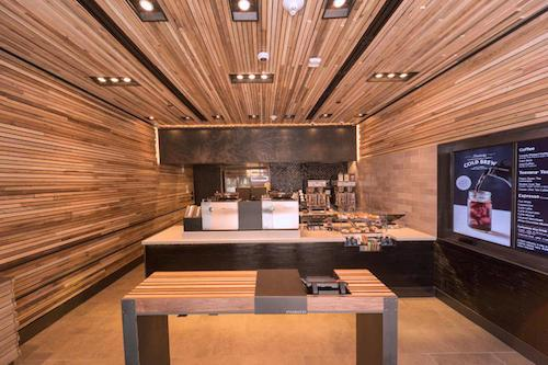 Starbucks Watch: Starbucks No-Line Pilot Store One Step Closer to Coffee IV