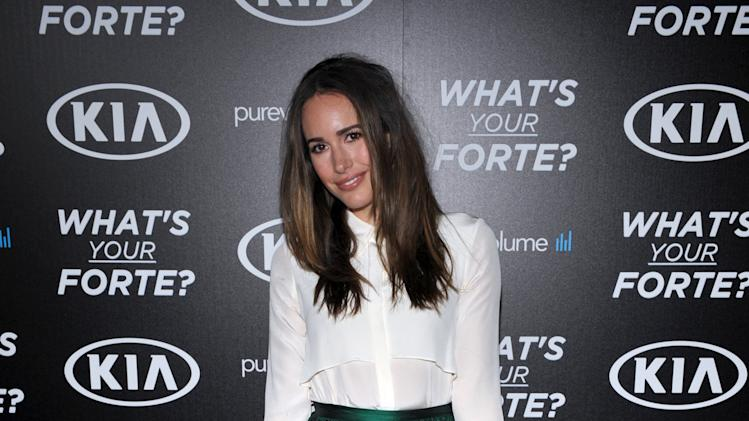 """Louise Roe attends the """"What's Your Forte?"""" event presented by PureVolume and Kia Motors America at Create Nightclub on Tuesday, June 18, 2013, in Los Angeles. (Photo by John Shearer/Invision for Spin Media/AP Images)"""