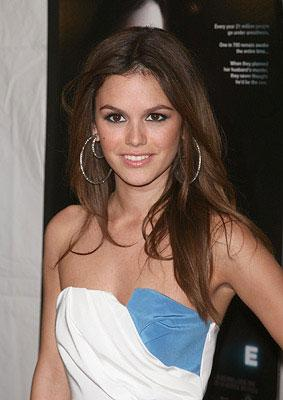 Rachel Bilson at the New York City premiere of Weinstein Company's Awake