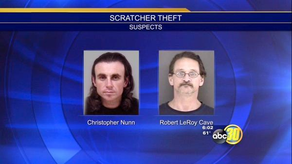 Second suspect in jail for Madera Co Lotto scratcher heist
