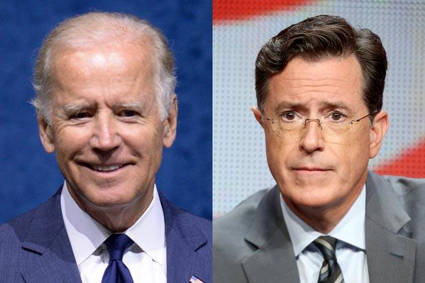 Stephen Colbert to Interview Joe Biden on 'Late Show'