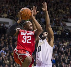 No. 3 Ohio St. pulls away from Purdue 78-69