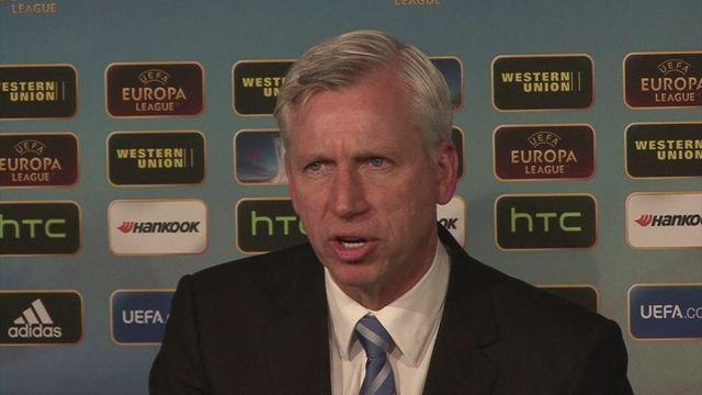 Pardew targets top ten finish for Newcastle [AMBIENT]