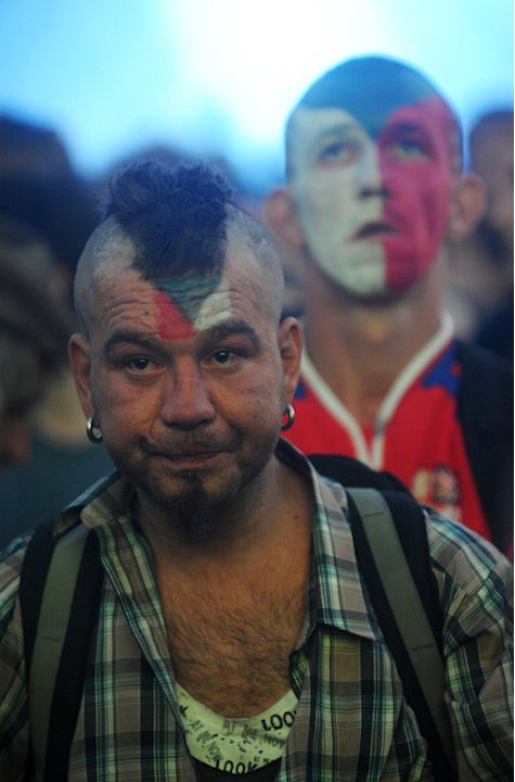 A Czech Fans AFP/Getty Im …