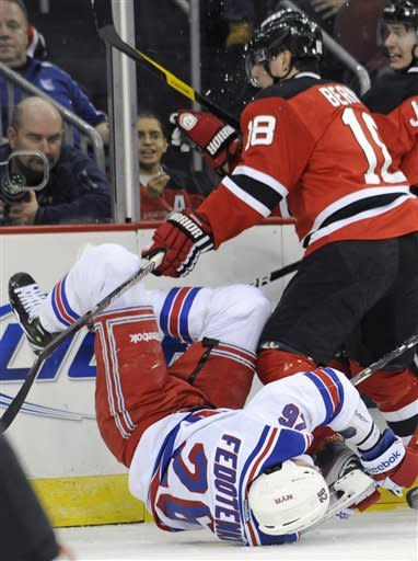 Clarkson, Carter lift Devils over Rangers