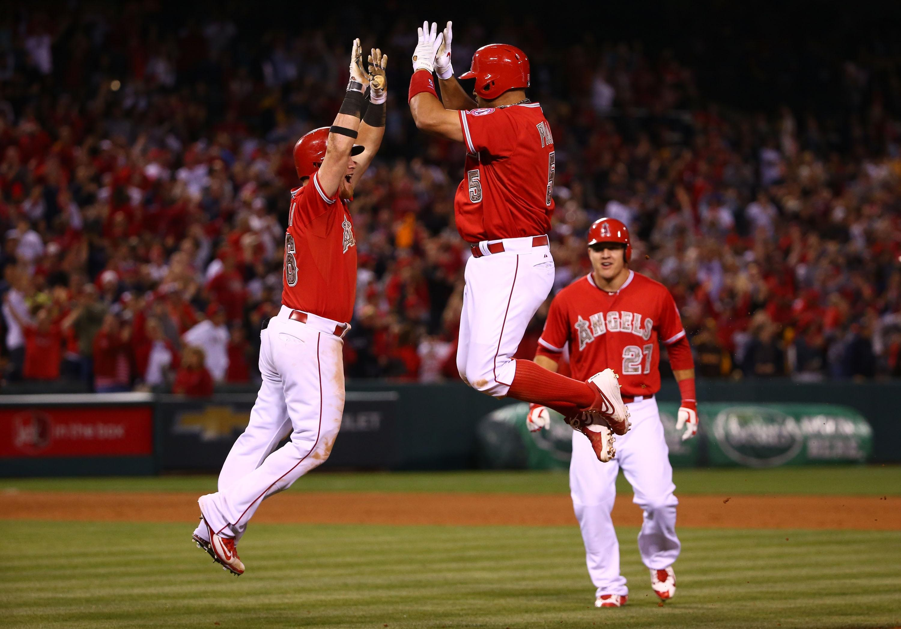 Albert Pujols delivers walk-off win after Angels give Padres tough choice