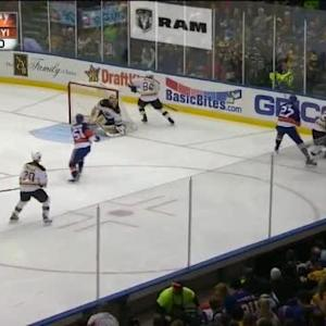 Anders Lee Hit on Gregory Campbell (03:30/2nd)