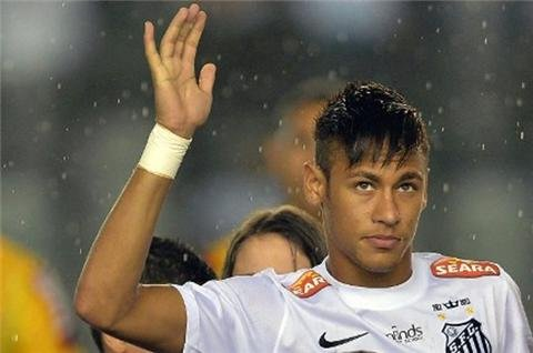 Neymar bound for Barcelona