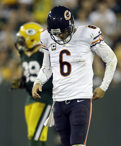 Bears' offense looks familiar in loss to Packers