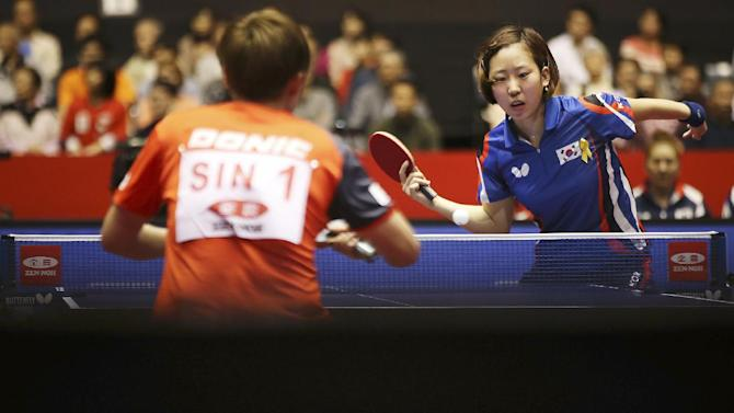 Table tennis president to become chairman