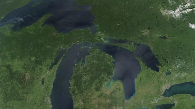 Great Lakes Hit Lowest Water Level On Record