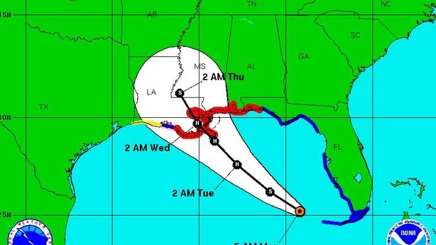 Hurricane Isaac On Track to Hit New Orleans on Katrina Anniversary