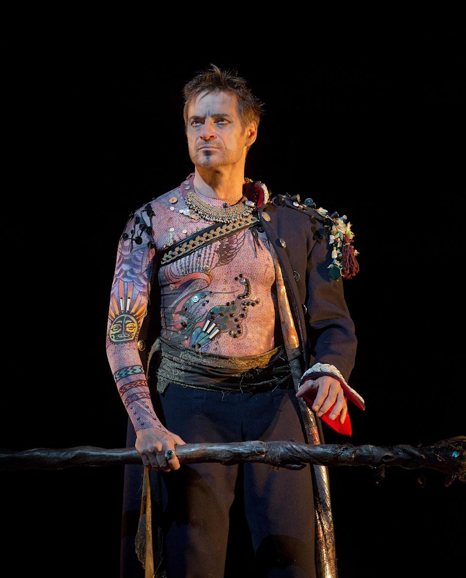 "In this Oct. 15, 2012 photo provided by the Metropolitan Opera, Simon Keenlyside appears as Prospero in A dress rehearsal of Thomas Adès's ""The Tempest,"" at the Metropolitan Opera in New York. (AP Photo/Metropolitan Opera, Ken Howard)"