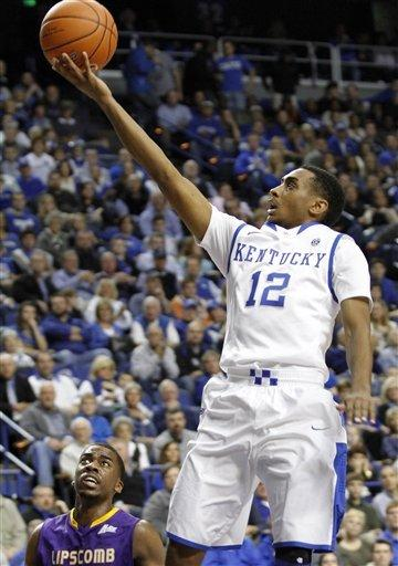 Wiltjer sparks Kentucky past Lipscomb 88-50
