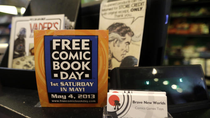 Free Comic Book Day finds print, digital in demand