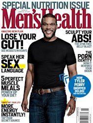 Tyler Perry on the cover of Men's Health (Nov. 2012) -- Men's Health