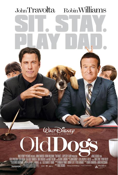 Movie: Old Dogs, starring John Travolta and Robin Williams