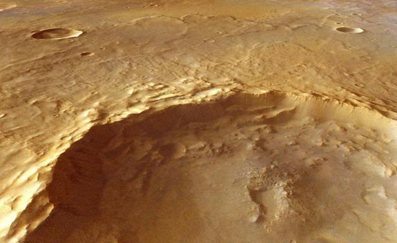 Ancient Mars Water Existed Deep Underground