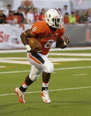 Duke Johnson feeling rested after 3 Miami games