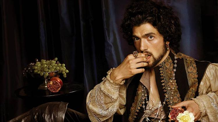 David Alpay as Mark Smeaton in The Tudors.