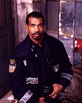 "Michael Beach as paramedic Monte ""Doc"" Parker on NBC's Third Watch Third Watch"