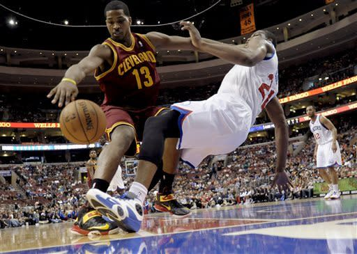 76ers roll past Cavaliers 91-77 in home finale