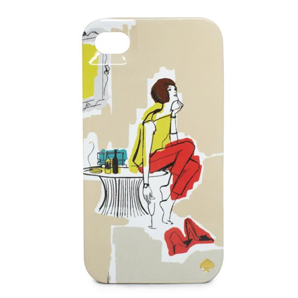 Garance Doré for Kate Spade Cocktail iPhone case, $30, katespade.com