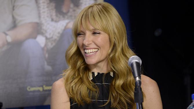 """FILE - In this Sept. 8, 2013 file photo, Toni Collette attends the news conference for """"Enough Said"""" on day 4 of the Toronto International Film Festival in Toronto. A play about four people who share the same last name is coming to Broadway with some awfully big names attached. Collette, Michael C. Hall, Marisa Tomei and Tracy Letts are set to star in Will Eno's play """"The Realistic Joneses"""" early next year. Previews are set to begin in February and an opening scheduled at a theater to be announced later for late March. (Photo by Evan Agostini/Invision/AP)"""