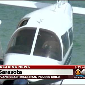 Father Killed, Daughter Injured As Plane Crash Lands On Beach