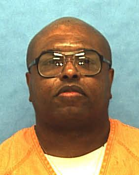 In this undated photo provided by the Florida Department of Corrections shows Florida death row inmate Darius Kimbrough. Kimbrough broke into the Orlando, Fla., apartment of 28-year-old Denise Collins as she slept in October 1991. Kimbrough sexually assaulted Collins and then beat her to death. Kimbrough is scheduled to be executed next Tuesday, Nov. 12. (AP Photo/Florida Department of Corrections)