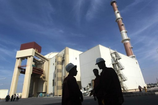 The reactor building at the Russian-built Bushehr nuclear power plant, 1200 kms south of Tehran, on October 26, 2010. More than two months after US President Barack Obama's re-election opened the way for new six-power nuclear talks with Iran, no date or location for their first meeting since June has been set