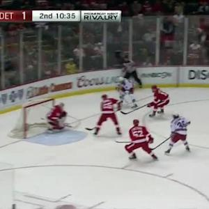 Jimmy Howard Save on Rick Nash (09:27/2nd)