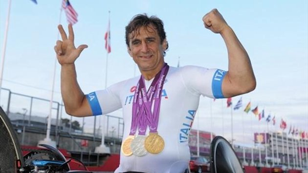 Zanardi 3 medals