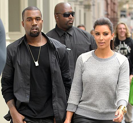 Kim Kardashian, Kanye West Attend Bootcamp Class Together