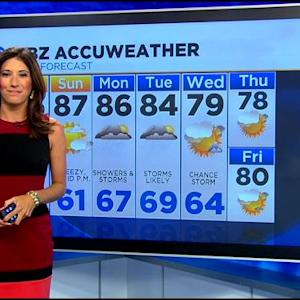 WBZ AccuWeather Afternoon Forecast For July 11