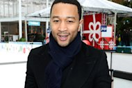 John Legend performs at JC Penney's Holiday Giving Tour Kick Off At CitiPond At Bryant Park in New York City on November 27th, 2012.
